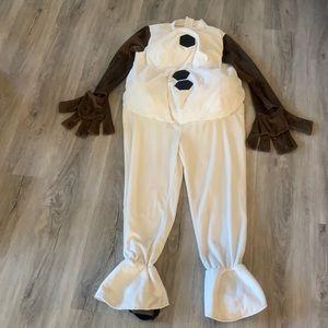 Disney Frozen Olof costume size 7/8